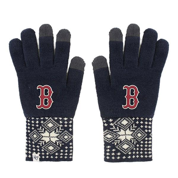 Boston Red Sox Women's 47 Brand Camden Navy Gloves
