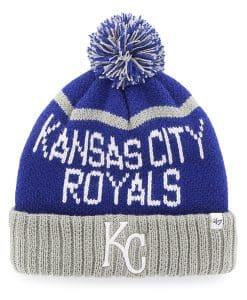 Kansas City Royals Linesman Cuff Knit Royal 47 Brand Hat