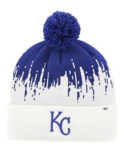 Kansas City Royals Riser Cuff Knit Royal 47 Brand Hat