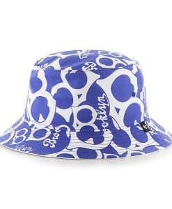 Brooklyn Dodgers Bravado Cooperstown White 47 Brand Bucket Hat
