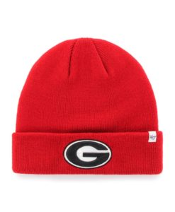 Georgia Bulldogs YOUTH 47 Brand Red Raised Cuff Knit Hat