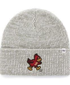 Iowa State Cyclones Brain Freeze Cuff Knit Gray 47 Brand Hat