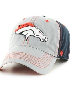 Denver Broncos Clean Up Tumult 47 Brand Adjustable Hat
