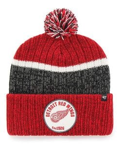 Detroit Red Wings 47 Brand Holcomb Red Cuff Knit Hat