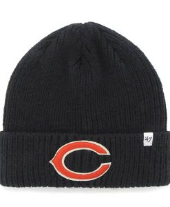 Chicago Bears Amesbury Cuff Knit Navy 47 Brand Hat