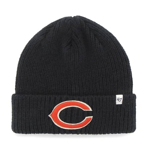 Chicago Bears Amesbury Cuff Knit Navy 47 Brand Hat