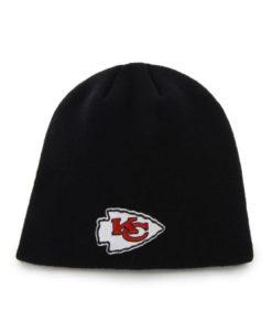 Kansas City Chiefs 47 Brand Black Beanie Knit Hat