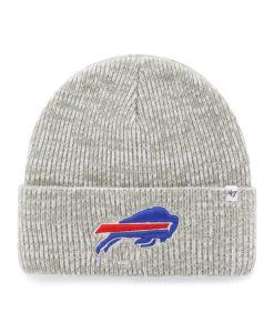 Buffalo Bills 47 Brand Gray Brain Freeze Cuff Knit Hat