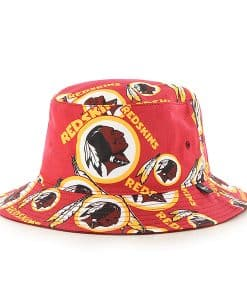 Washington Redskins 47 Brand Red Bravado Bucket Hat