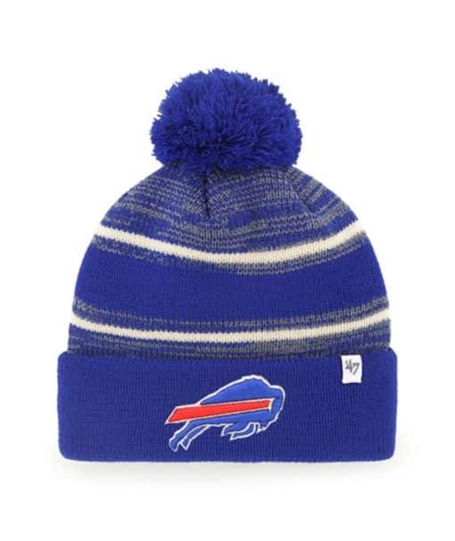 Buffalo Bills 47 Brand Blue Fairfax Cuff Knit Hat