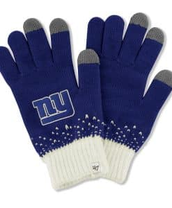 New York Giants Magic Mountain Gloves Royal 47 Brand Womens