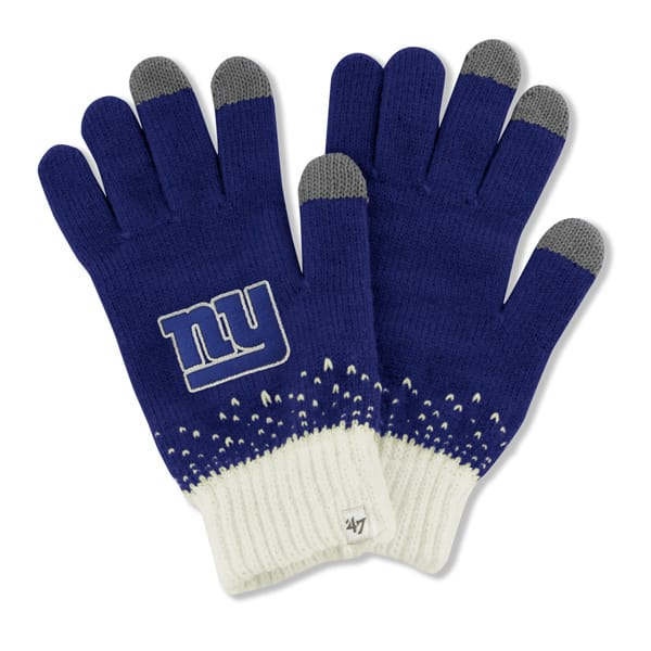 New York Giants Magic Mountain Gloves Royal 47 Brand Womens