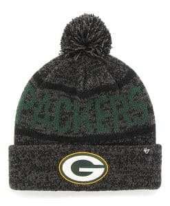 Green Bay Packers Northmont Cuff Knit Charcoal 47 Brand Hat