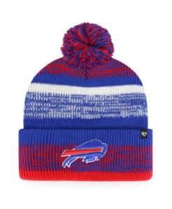 Buffalo Bills 47 Brand Northward Blue Cuff Knit Hat