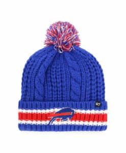 Buffalo Bills Women's 47 Brand Blue Sorority Cuff Knit Hat