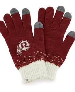 Washington Redskins Women's 47 Brand Razor Red Magic Mountain Gloves