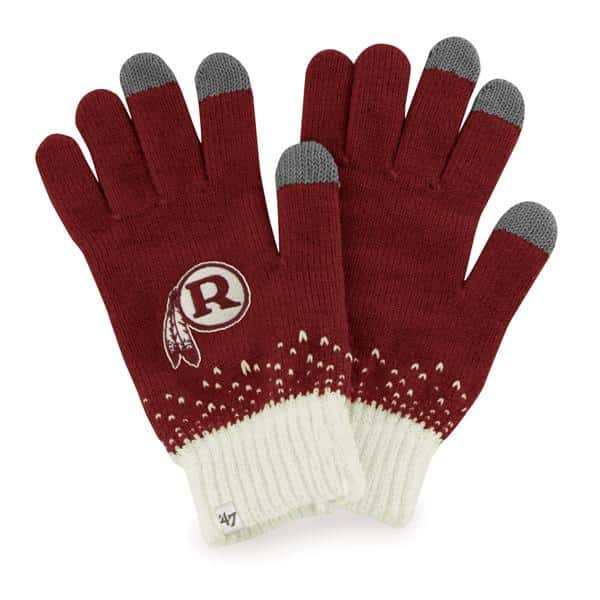 Washington Redskins Women's 47 Brand Razor Red Magic Mountain Gloves