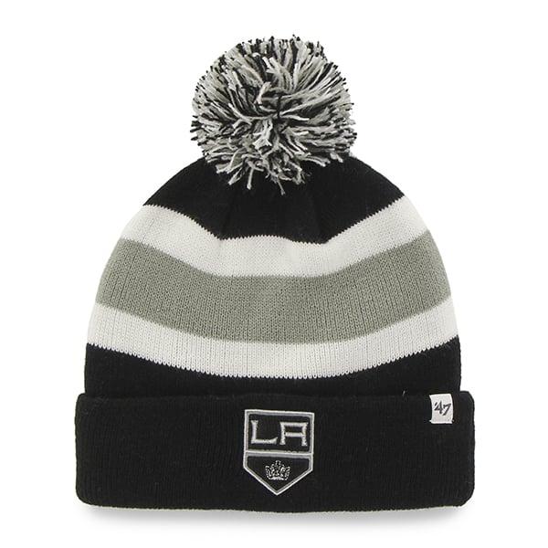 Los Angeles Kings Breakaway Cuff Knit Black 47 Brand Hat