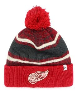 Detroit Red Wings Fairfax Cuff Knit Red 47 Brand Hat