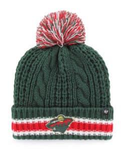Minnesota Wild Women's 47 Brand Sorority Green Cuff Knit Hat