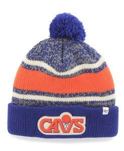 Cleveland Cavaliers Fairfax Cuff Knit Royal 47 Brand Hat
