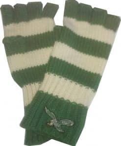 Philadelphia Eagles North Slope Fingerless Gloves 47 Brand Womens