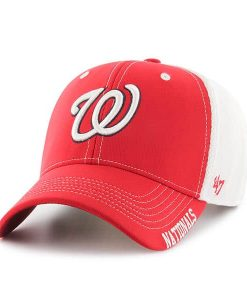 Washington Nationals 47 Brand MVP Alliance Red Adjustable Hat
