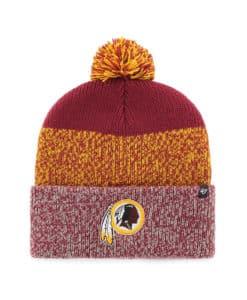 Washington Redskins 47 Brand Cardinal Static Cuff Knit Hat