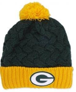 Green Bay Packers Women's 47 Brand Dark Green Matterhorn Knit Hat