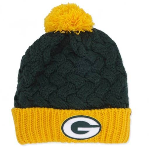 Green Bay Packers Women's 47 Brand Dark Green Matterhorn Knit Hat