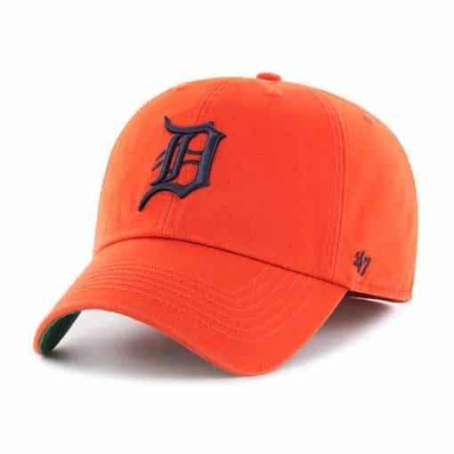 Detroit Tigers 47 Brand Orange Franchise Fitted Hat