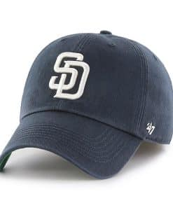 San Diego Padres 47 Brand Navy Franchise Fitted Hat