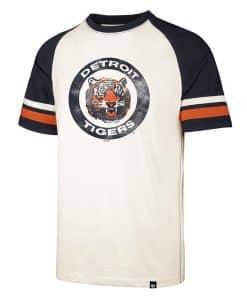 Detroit Tigers Men's 47 Brand Cream Cooperstown Opener T-Shirt Tee