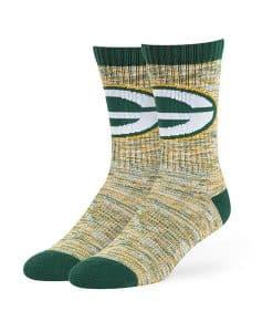 Green Bay Packers 47 Brand Dark Green Leroy Sport Crew Socks