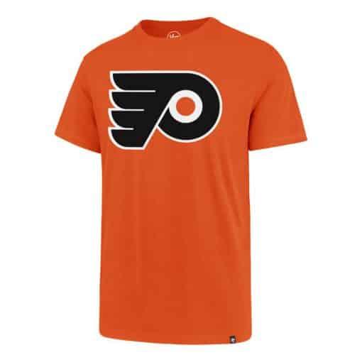 Philadelphia Flyers Men's 47 Brand Orange Rival T-Shirt Tee