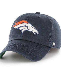 Denver Broncos 47 Brand Navy Franchise Fitted Hat
