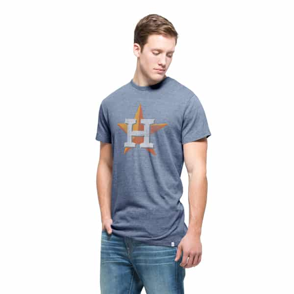 Houston Astros Tri-State T-Shirt Mens Nightfall 47 Brand