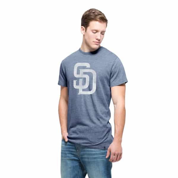 San Diego Padres Tri-State T-Shirt Mens Nightfall 47 Brand