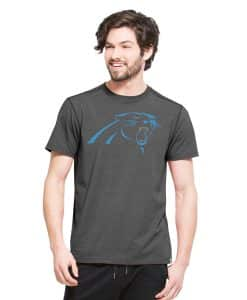 Carolina Panthers Forward Ss T-Shirt Mens Shift Black 47 Brand