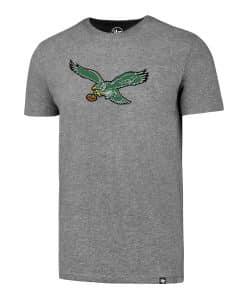 Philadelphia Eagles Men's 47 Brand Gray Classic Club T-Shirt Tee