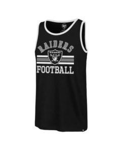 Las Vegas Raiders Men's 47 Brand Rival Black Tank Top