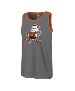 Cleveland Browns Men's 47 Brand Wolf Gray Tank Top