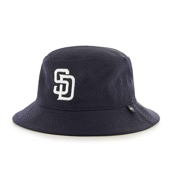 San Diego Padres 47 Brand Navy Backboard Bucket Hat