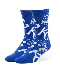 Kansas City Royals Bravado Sport Socks Royal 47 Brand