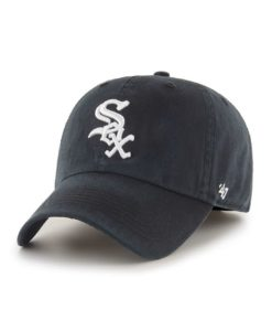 Chicago White Sox 47 Brand Black Franchise Fitted Hat