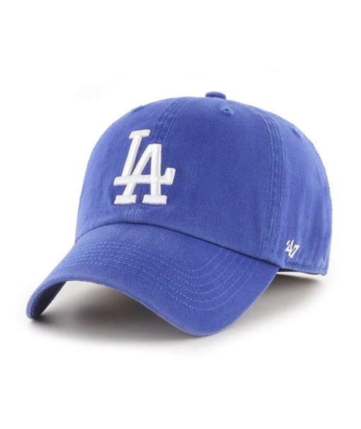 Los Angeles Dodgers 47 Brand Blue Franchise Fitted Hat