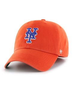 New York Mets 47 Brand Orange Franchise Fitted Hat