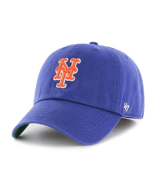 New York Mets 47 Brand Royal Blue Franchise Fitted Hat