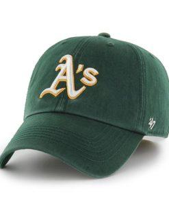 Oakland Athletics 47 Brand Dark Green Franchise Fitted Hat