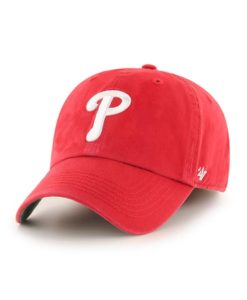 Philadelphia Phillies 47 Brand Classic Red Franchise Fitted Hat